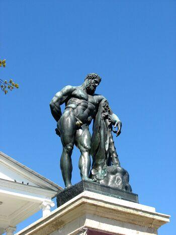 RUSSIE: le parc du Palais Catherine