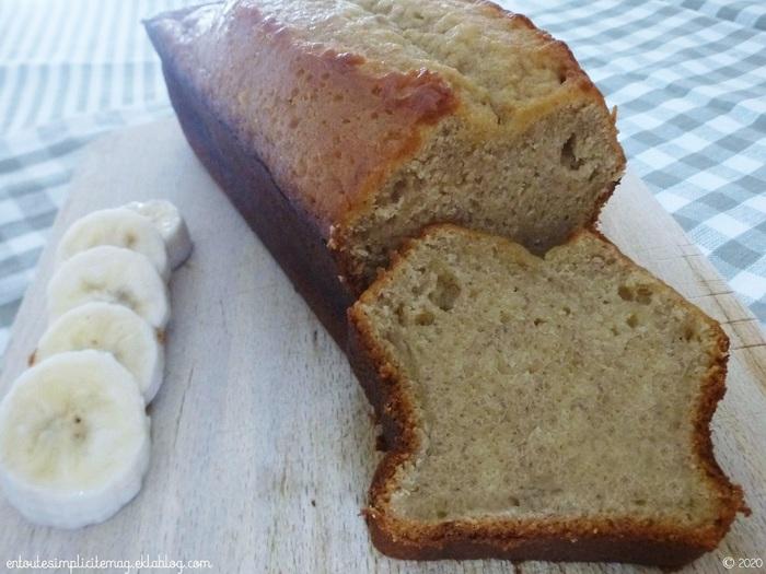 Cake à la banane (ou Banana Bread)