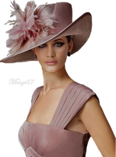 Nők kalapba..