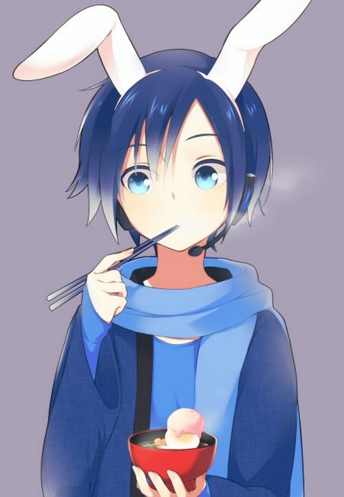 Vocaloid Kaito Ice Cream