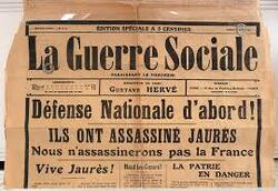 L'assassinat de Jean Jaurès - 31 juillet 1914