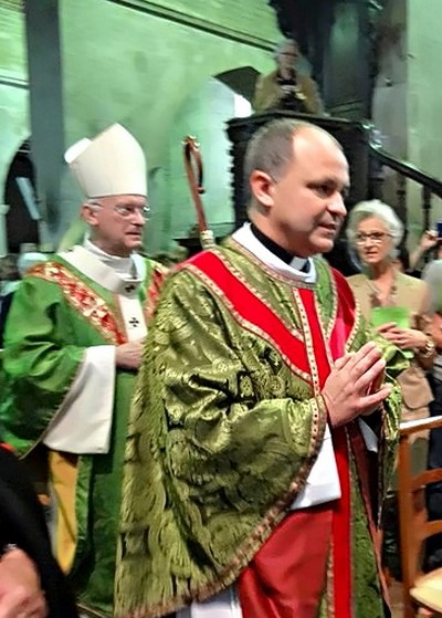 L'installation du père Paul Houdart et de son vicaire Joseph-Diyas Maria Dasan
