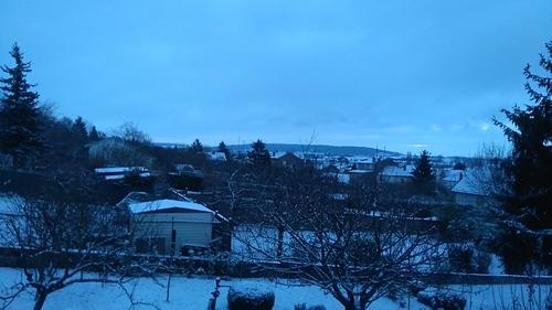 L'arrivée de la neige
