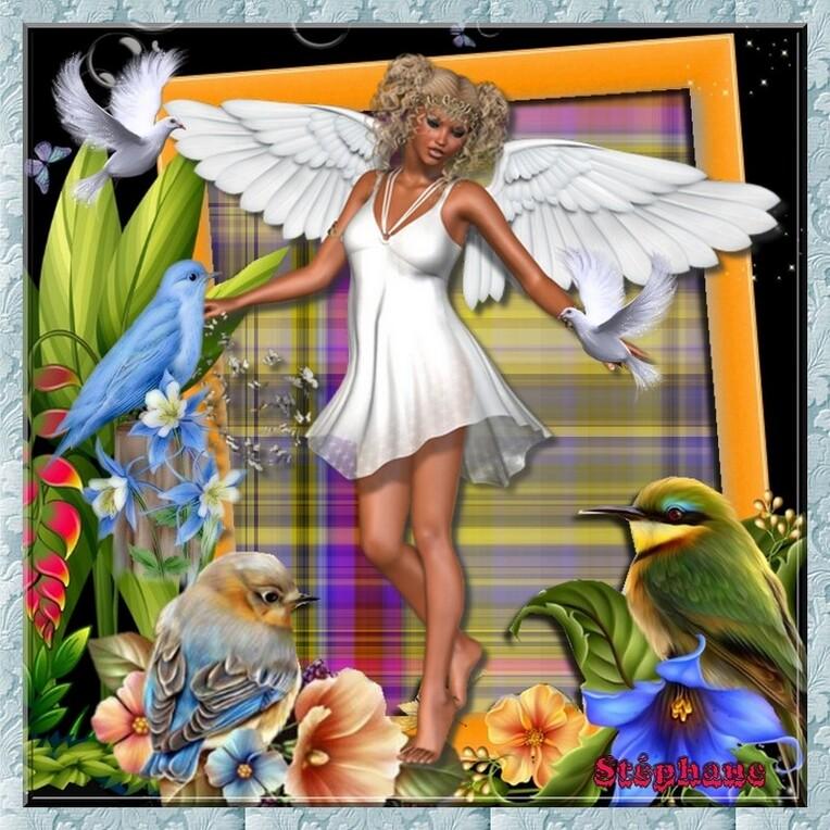 Défi beauty       & Maman L'ange des oiseaux