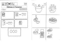 Ecrire une recette en CP