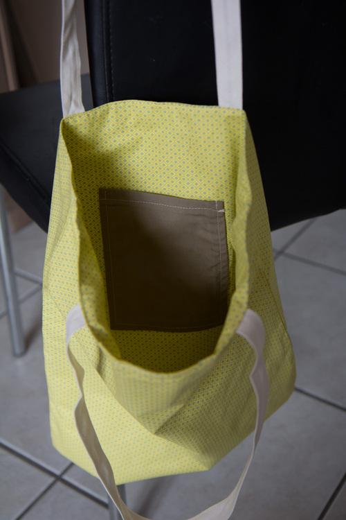 Mylène - Couture : Encore des tote bags