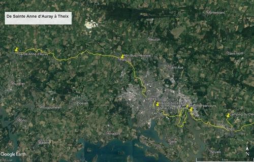 897 - Notre Chemin vers St Jacques, son récit et ses anecdotes !
