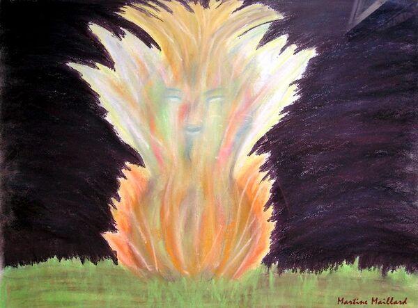 L'esprit du feu-Martine Maillard