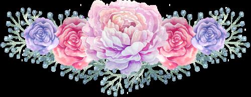 **Frises de fleurs**Papiers