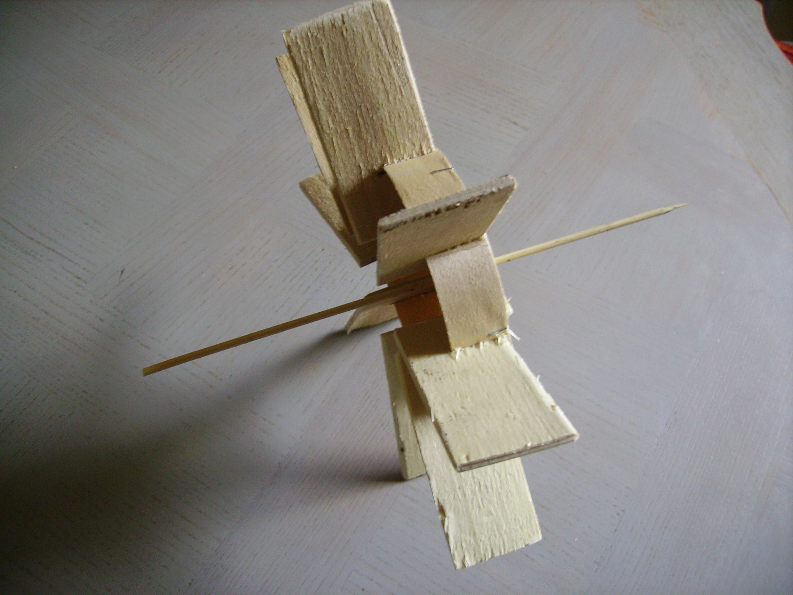Atelier de bricolage fabriquer un moulin pousse toi de mon soleil - Moulin a vent en bois a fabriquer ...