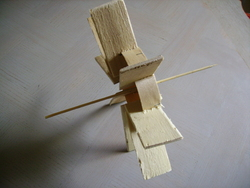 Atelier de bricolage : fabriquer un moulin
