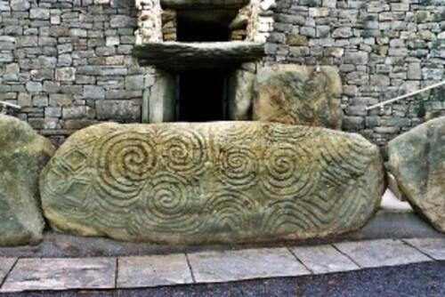 Newgrange, culte néolithique du solstice d'hivers