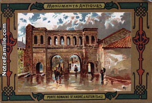 cartes-postales-photos-MONUMENTS-ANTIQUES-AUTUN-71400-2230-