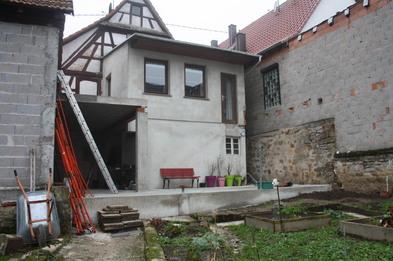 La terrasse du rez de jardin