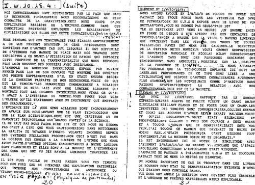 Microscope N°39 l'etat ondulatoire explique la majorité des phénomènes paranormaux P 20 a 29