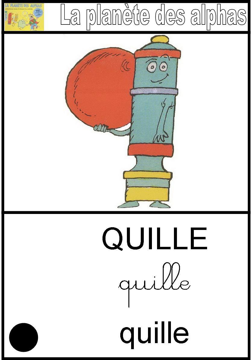 Affichage La quille