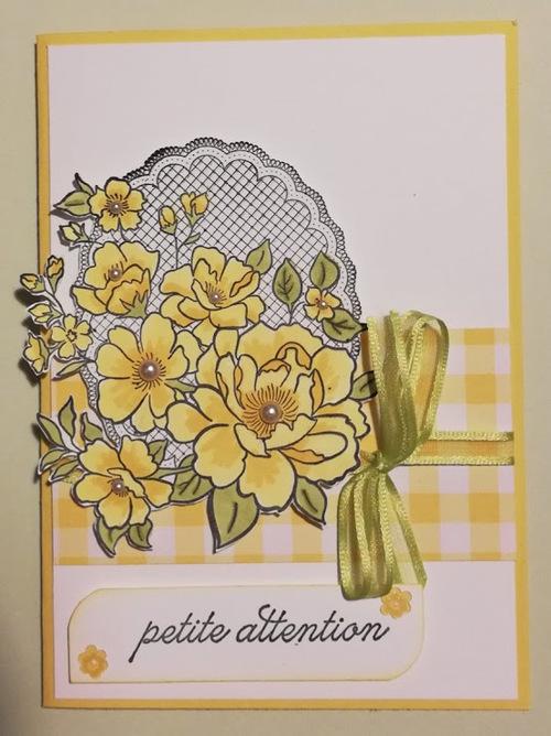 atelier chez Odette R. : les cadeaux pour Odette et sa fille....
