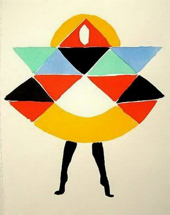 Sonia Delaunay, Les Robes Poèmes, 1969