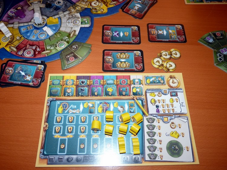 Aquasphere (mes cartes)
