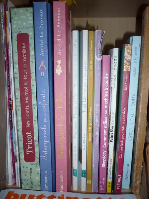 Ma bibliothèque en décembre 2013