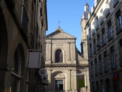 Rennes: la Cathédrale et la Basilique Zaint Zauveur (photos)