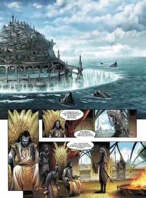 Le crystal des elfes bleus d'Istin & Duarte - Elfes, tome 1