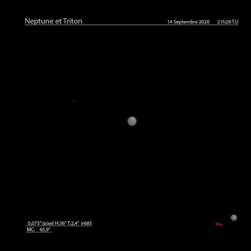 Neptune du mois de septembre 2020