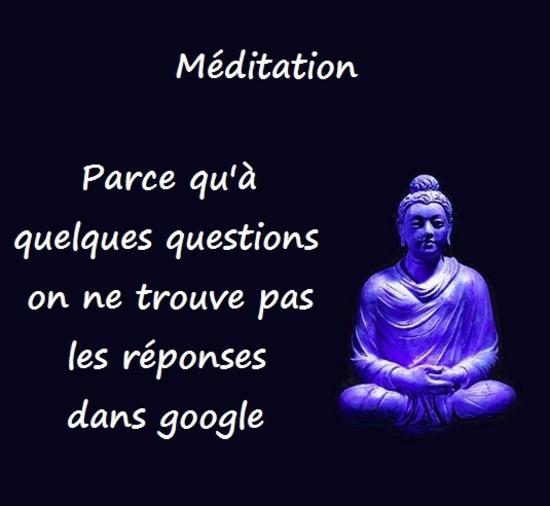 meditation reponse google