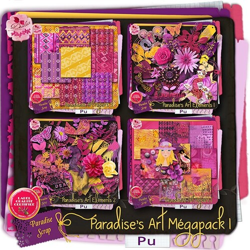 KIT PARADISES ART COLLAB DIGI-BOUTIK
