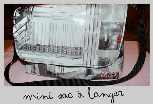 mini sac à langer