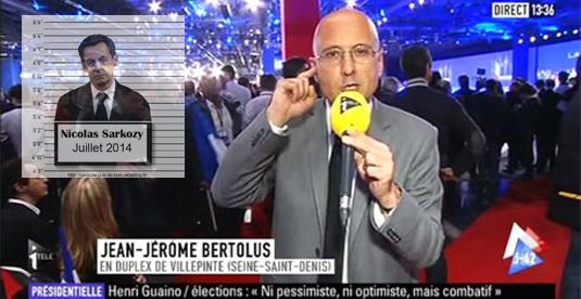 Garde à vue de Sarkozy : Jean Jérôme Bertolus d'I Télé attaque Claire Thépaut...