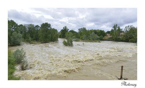 Les Landes inondation