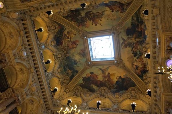 Le Palais Garnier, plafond de la nef