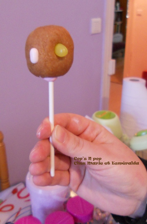 Cake pops aux speculoos