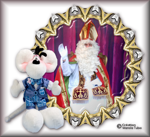 Tube Noel et St Nicolas 2952