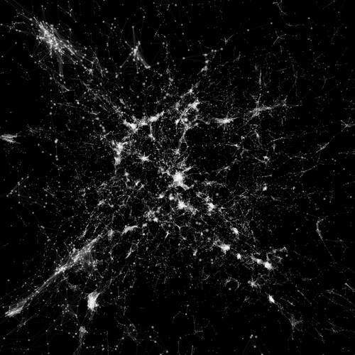 Cosmic web - Immersion dans 24 000 galaxies