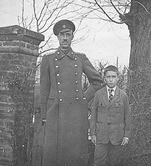 Wrangell fils.  Topčider (Serbie).  Décembre 1922