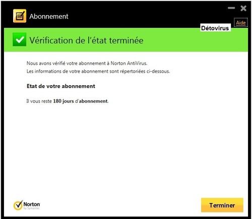 Norton Antivirus 2014 - Licence 6 mois gratuits