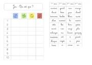 Grammaire jeu 2: la nature des mots