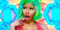 Les grimaces de Nicki Minaj !