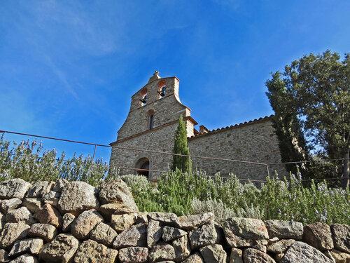 La Chapelle Saint-Jacques-de-Calahons (531 m) depuis Catllar (331 m)