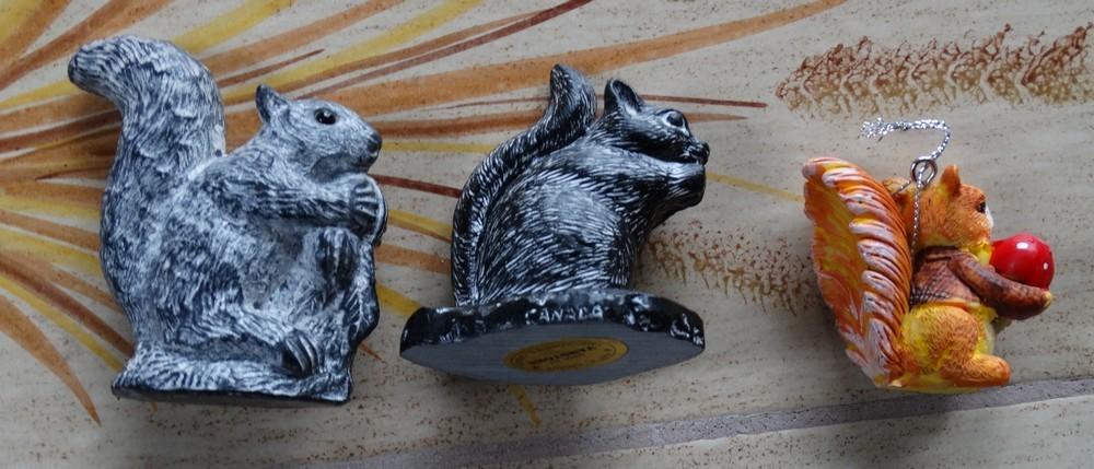 Trois petits écureuils...
