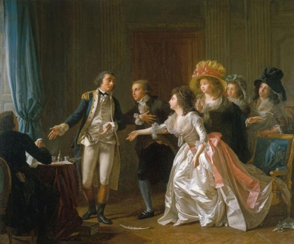 Mardi - Le mariage dans l'art (1)