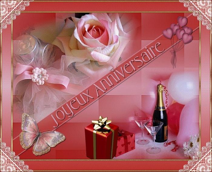 Cadeaux pour mon anniversaire.............. merci à vous ...