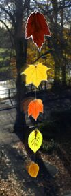 Autumn Leaf Sun-Catcher