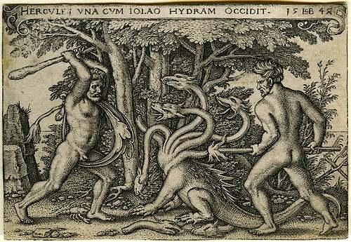 Le grand almanach de France : l'Hydre de Lerne