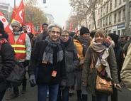Les salariés de l'UGECAM mobilisés (manifs, AG, rassemblements...)