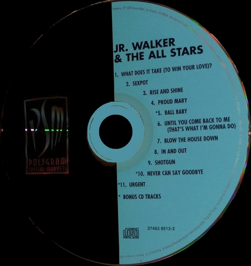 "Jr. Walker & The All Stars : CD "" Motown Legends What Does It Take [ To Win Your Love ] "" Polygram Special Markets Records 37463 8512-2 [ US ]"