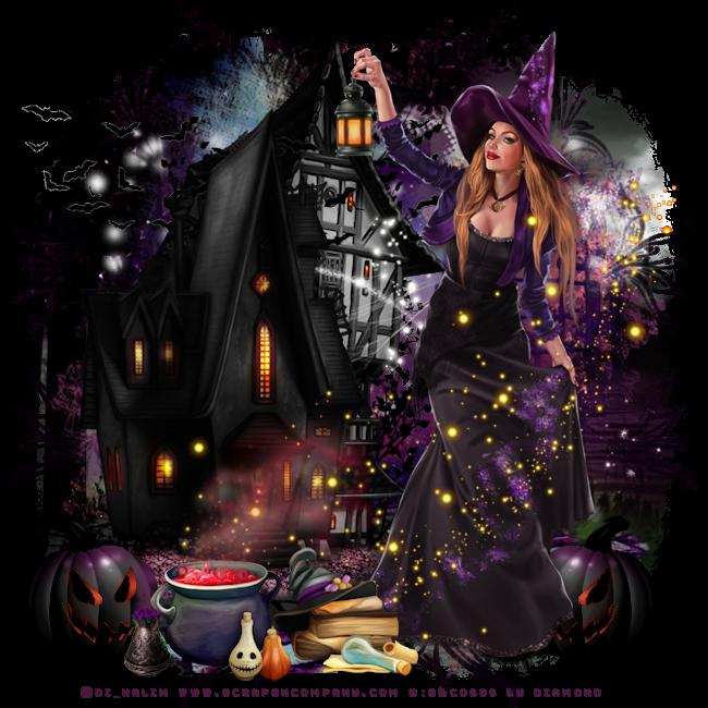 Tutoriel Halloween 16 de Liligraph chez Delire2scrap