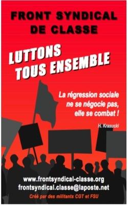 - Pour que la CGT redevienne un syndicat de Lutte des classes !